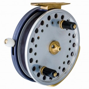 "1999. John Milner produces first batch of twenty Kingfisher float fishing reels in 4-3/8""."