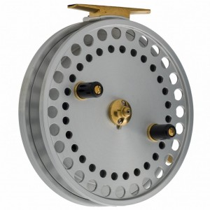 "2005. The first two Kingfisher reels in 5"" that are designed for Ontario and Ohio steelhead fishing, are completed."